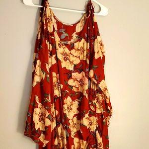 Anthropology dress size l.